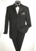 Button Tuxedo with Black