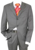 Mens Charcoal Gray Suit