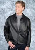 jacket Black/Brown Trim $239