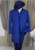 Blue Zoot suits