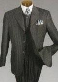 Mens Charcoal Color Suit