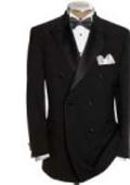 Double Breasted Tuxedo Jacket