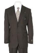 Men Brown Suit