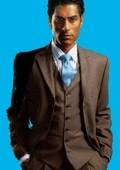 Elegant Mens Chocolate Brown