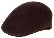Mens Wool Brown Drivers