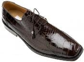 Black Cherry Alligator Shoes