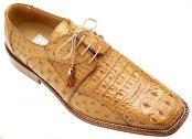 Cognac Genuine Crocodile ~