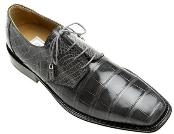 Grey  Alligator Shoes