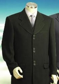 Fashion Vested Suit Navy