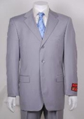 Light Gray 3 Button Suit