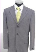 Mens Light Gray Suit