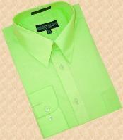 Green Dress Shirt