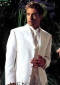 coat 4 Button White