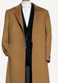 Harward Luxurious Camel~Bronz soft finest grade of Cashmere & Wool Overcoat