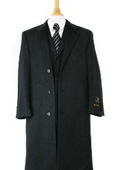 Charcol Gray Overcoat
