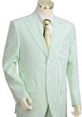 Cotton Seersucker Suit