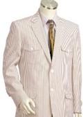Cotton Seersucker Suits