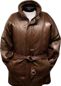 Dark Brown Rain Coat