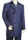 Blue Zoot Denim suits