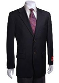 2-button Black Wool Jacket/Blazer
