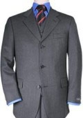 Mens 3 Buttons Vested