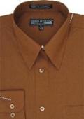 Mens Brown Shirts