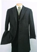 Charcoal Fully Lined Wool