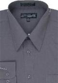 Dress Shirt Charcoal $25