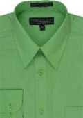 Dress Shirt Lime Green