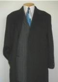 Charcoal Wool Overcoat