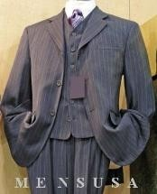 Grey Stripe ~ Pinstripe