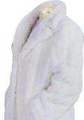 Faux Fur Coat White