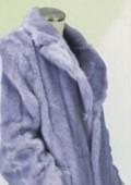Faux Fur Coat Gray