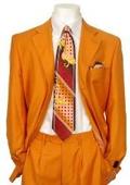 Orange Pimp Suits