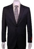 Suit Charcoal Stripe ~