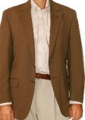 Two Button Blazer Brown