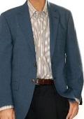 Mens Charcoal Blue Suit