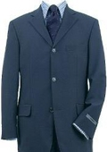 Mens Teal Blue Suit