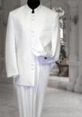 Mens White Suit