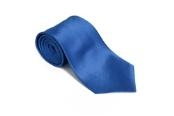 blue 100% Silk Solid