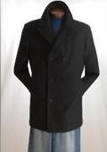 Coat Wool Blend Double