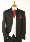 Quality Black Mandarin Collar