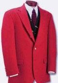 RED sport coats -