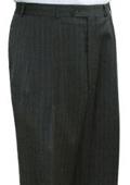 Lauren Grey stripe Flat