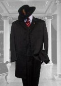 BLACK SUIT 3PC FASHION