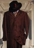 Mens Brown Suit