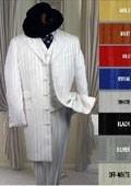 Pinstripe Long Zoot Suit