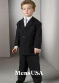 Boys 3 Button Suit
