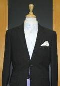 Black Linen Feel Suit