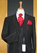 Black Three Piece Suit